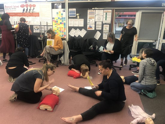 T3 2019 Deanwell Staff – NZ Red Cross First Aid Training Photos