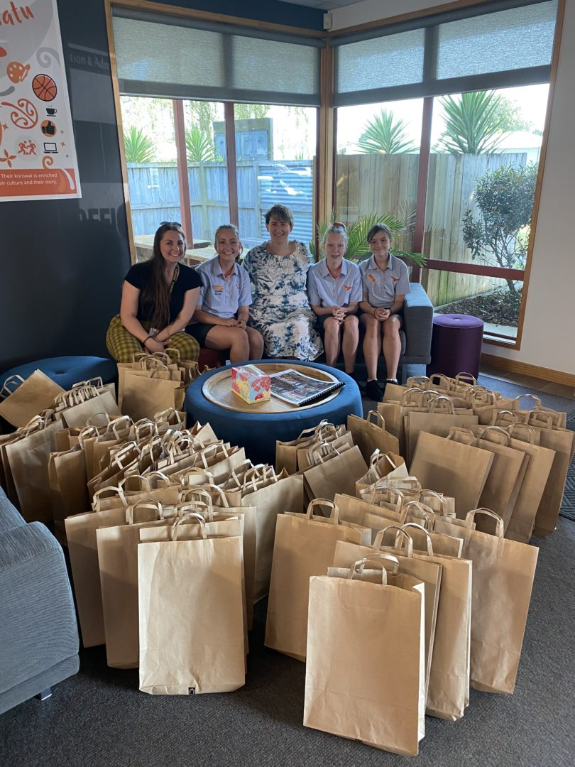 T4 2019 Thank you Rototuna Junior High Student Ambassadors for the amazing creative gift bags!